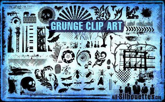 Vector Grunge Clipart.