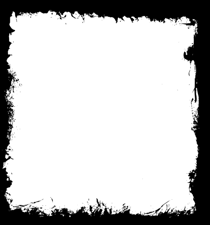 Grunge Frames Png Vector, Clipart, PSD.