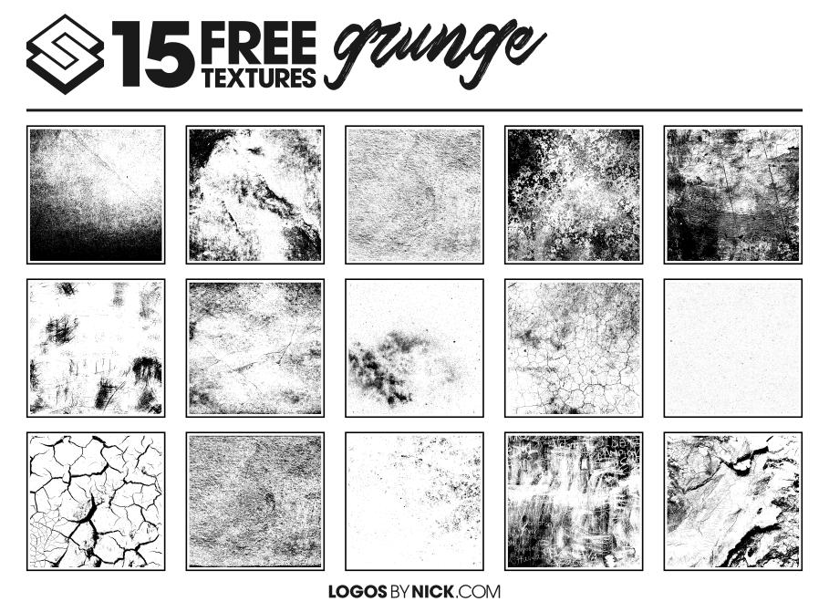 15 Free Grunge Textures.