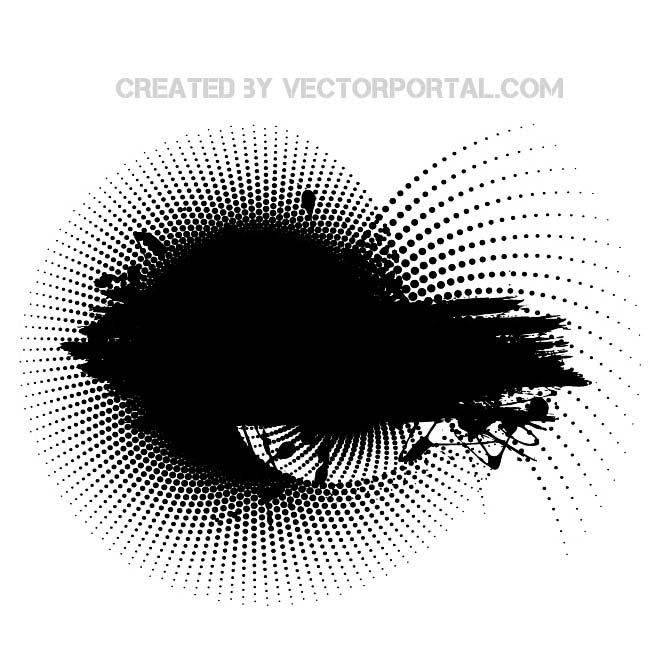 Grunge Background Clip Art Free Vector.
