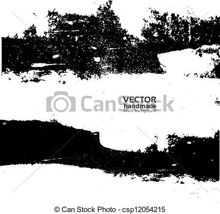 Vector Clip Art of Handmade grunge textute csp12054215.