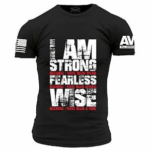 Details about I\'m Strong T.