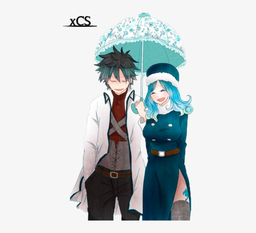 Fairy Tail, Gray Fullbuster, And Juvia Image.