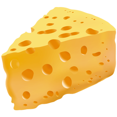 Cheese Gruyere Photo Slice transparent PNG.