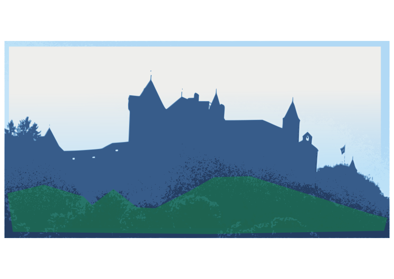 Free Clipart: Gruyeres Castel.