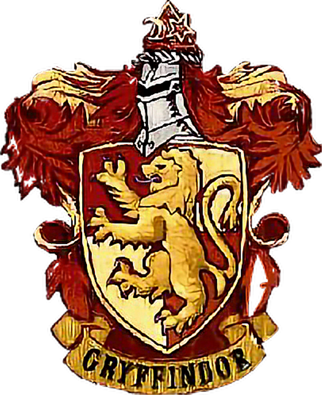 Gryffindor Harry Potter Hogwarts School of Witchcraft and Wizardry.