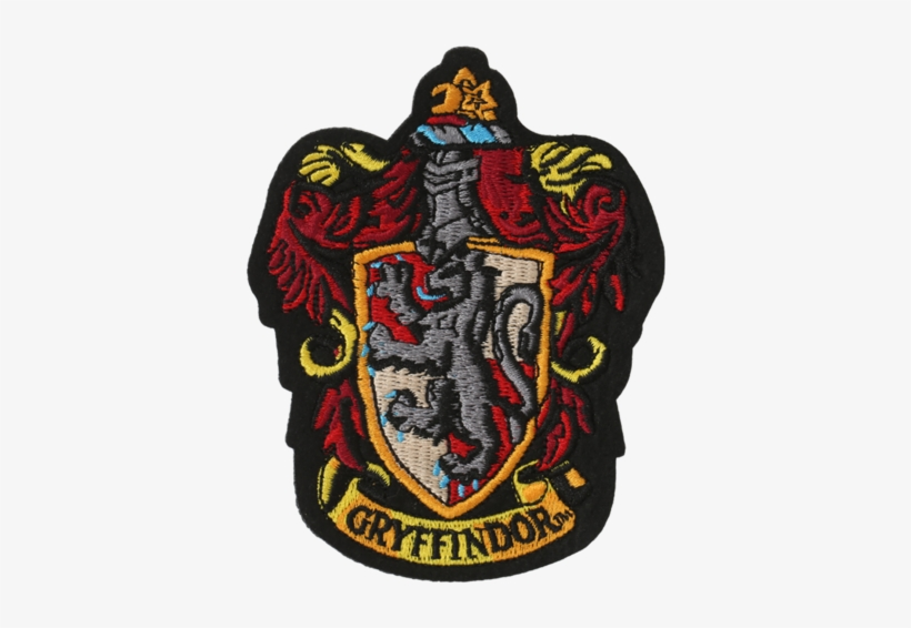 Gryffindor Embroidered Crest Patch.