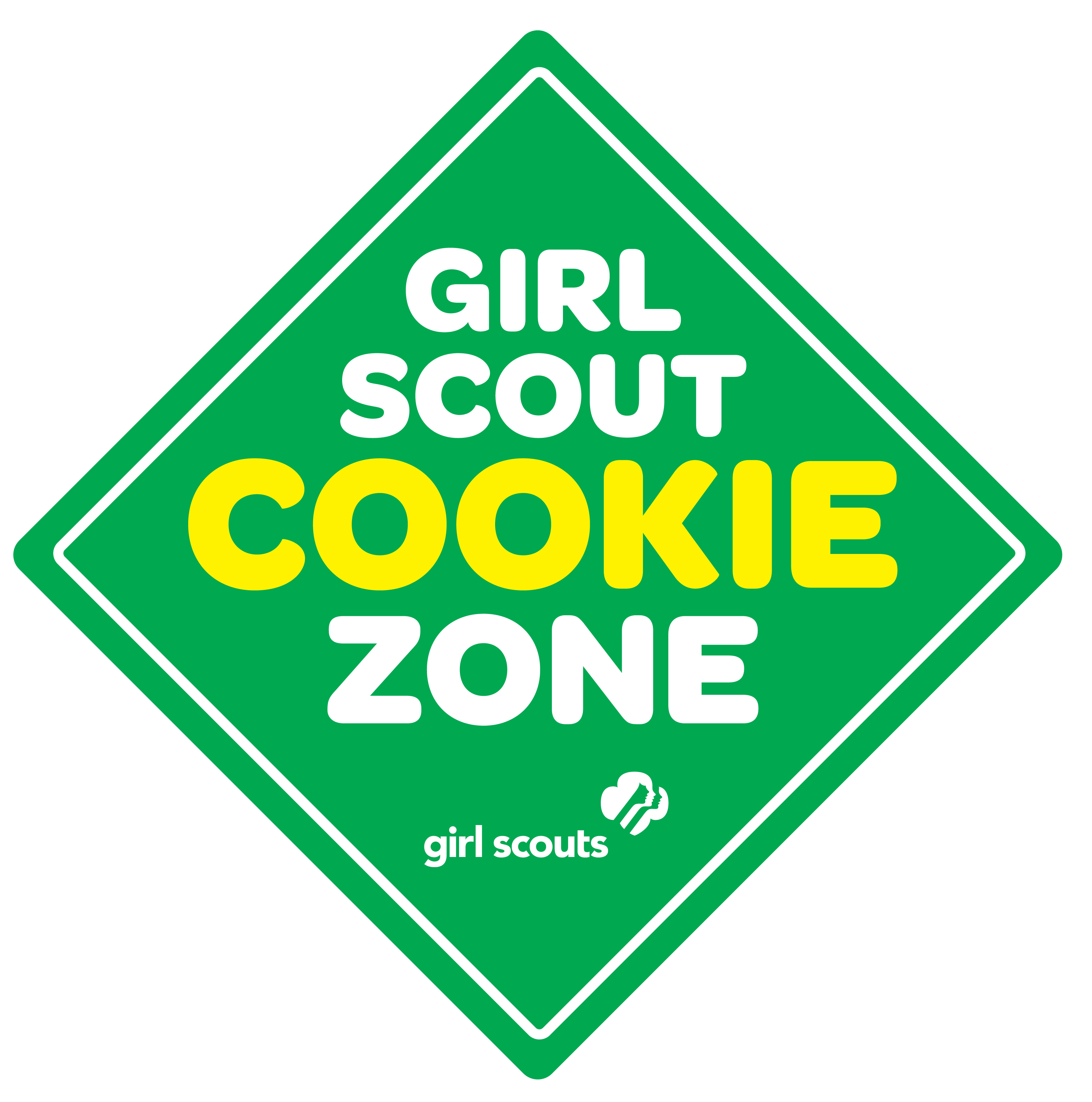 girl scout sign hand clipart #4