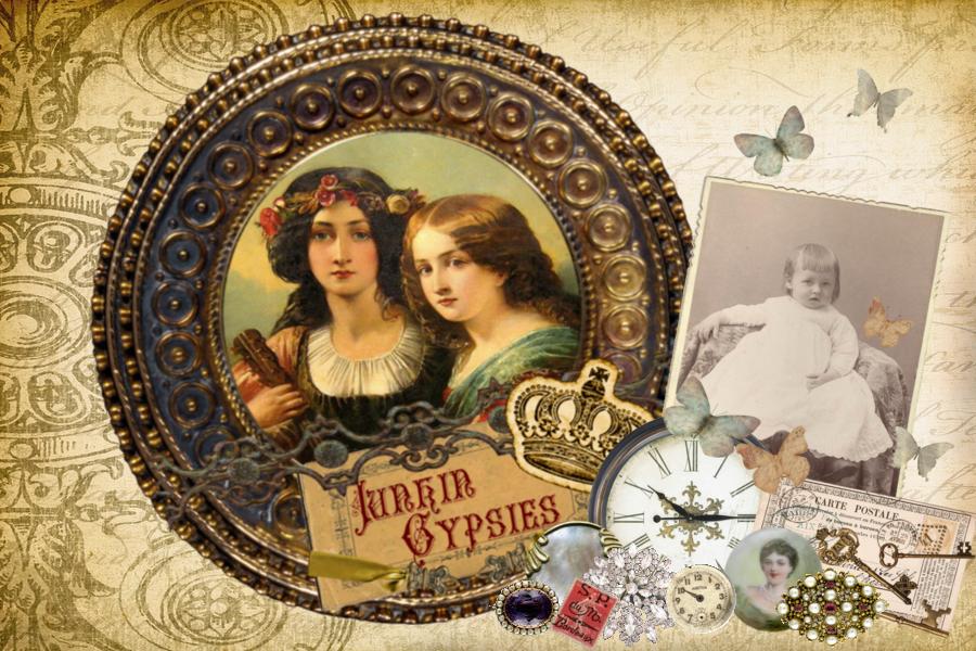 Gypsy Clipart.