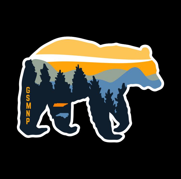 Great Smoky Mountains NP Sticker.