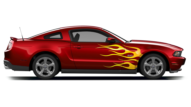Mustang gt clipart.