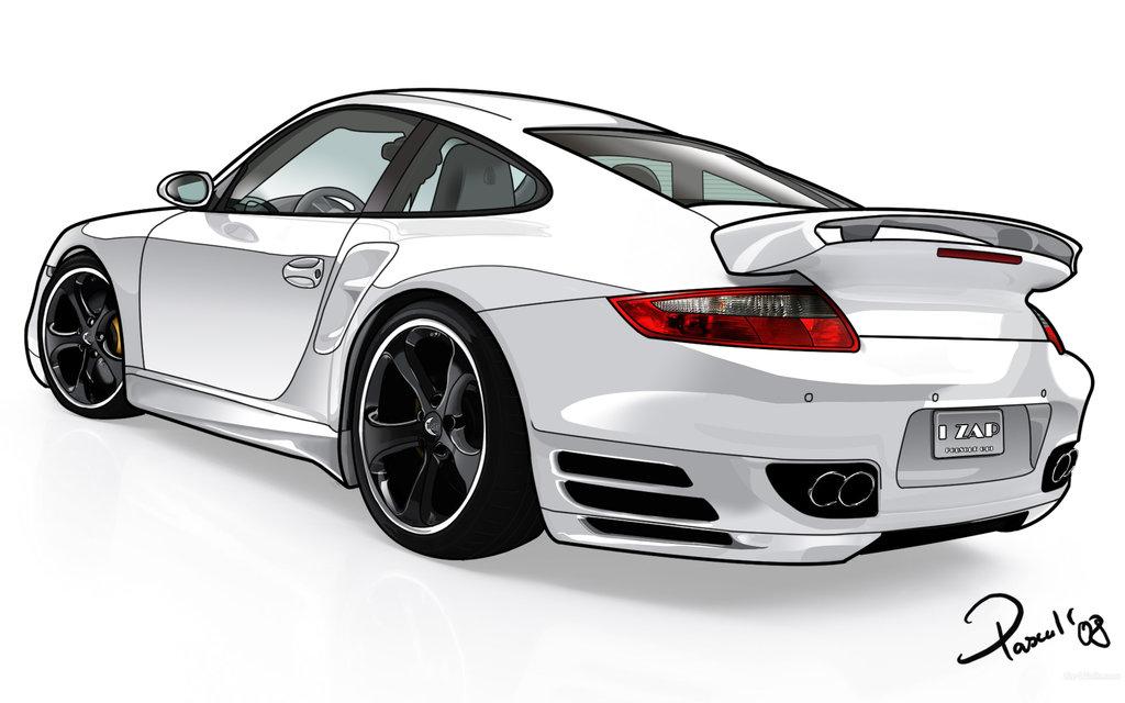 Porsche 911 gt3 hd clipart.