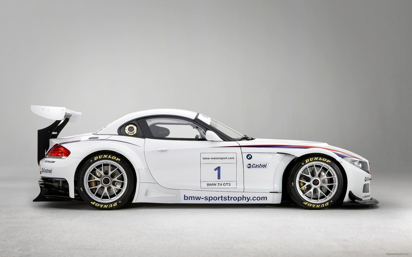 BMW Z4 GT3, best, BMW, cars, clipart, technics, white 1440x900.