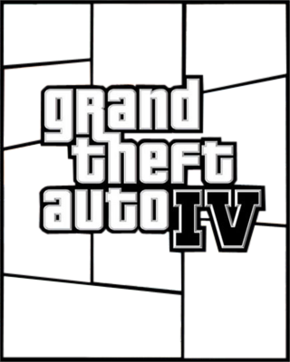 Free Grand Theft Auto Cover Maker PSD Vector Graphic.