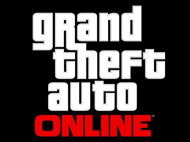 Grand Theft Auto Online logo.