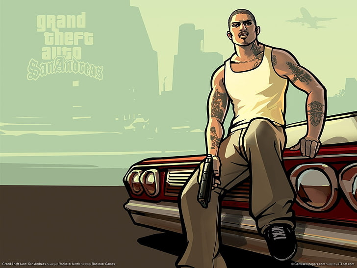 Gta san andreas 1080P, 2K, 4K, 5K HD wallpapers free.