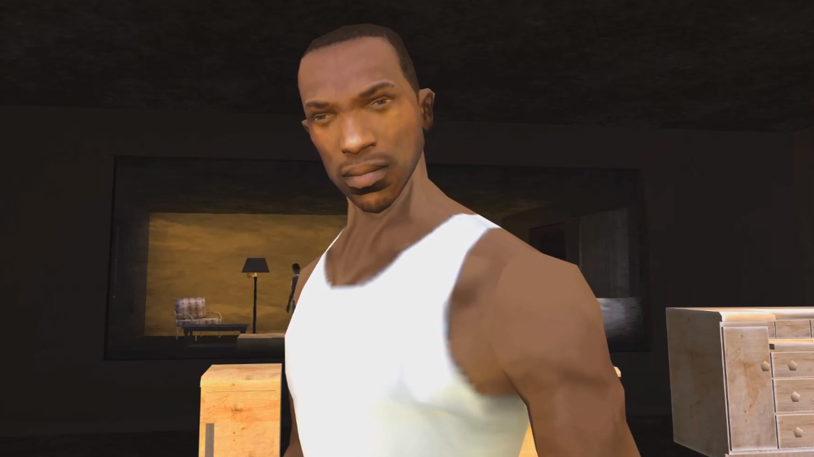 GTA: San Andreas is an existential nightmare with CJ as the only.