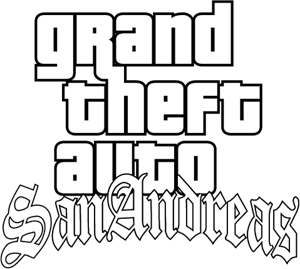 Grand Theft Auto SanAndreas Logo Vector (.EPS) Free Download.