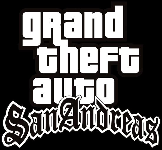 grand theft auto San Andreas logo.