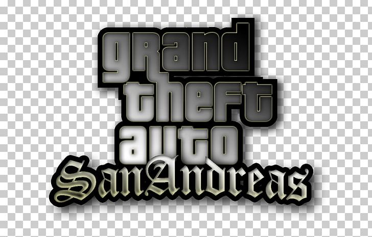 Grand Theft Auto: San Andreas Logo Rockstar Games Video Games Brand.