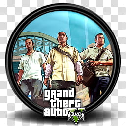 Grand Theft Auto V Game Icon, GTA _, Grand Theft Auto.