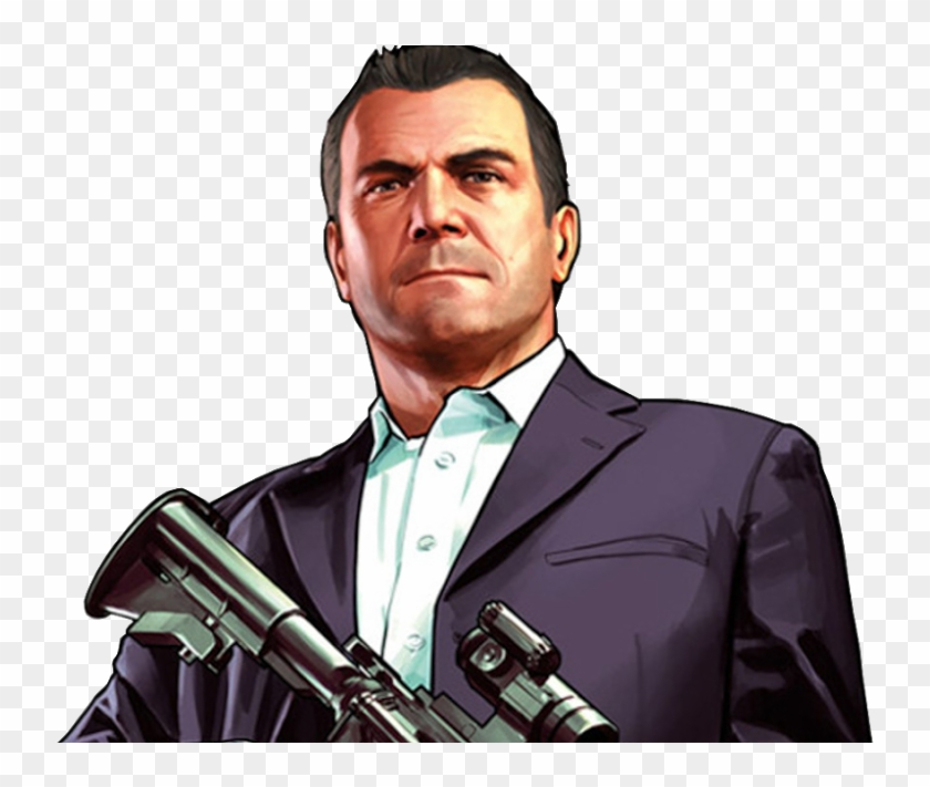 Michael Gta V Png.