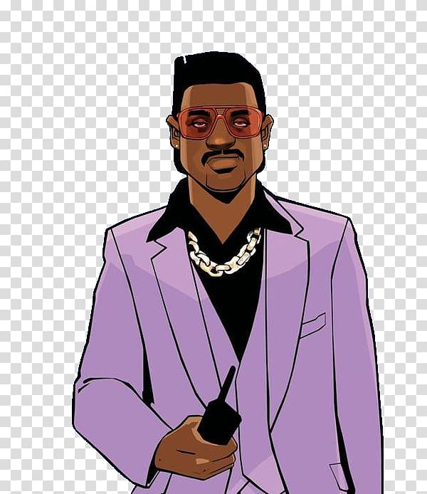 Grand Theft Auto Vice City character art, Grand Theft Auto.