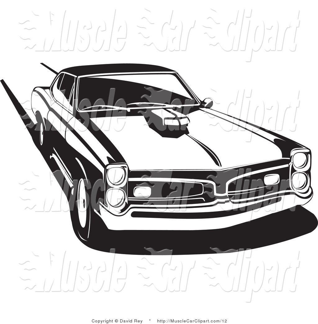 Muscle Car Clipart.