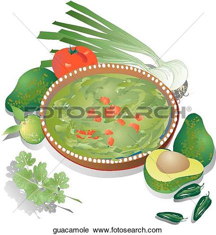 Guacamole Illustrations and Clipart. 31 guacamole royalty free.