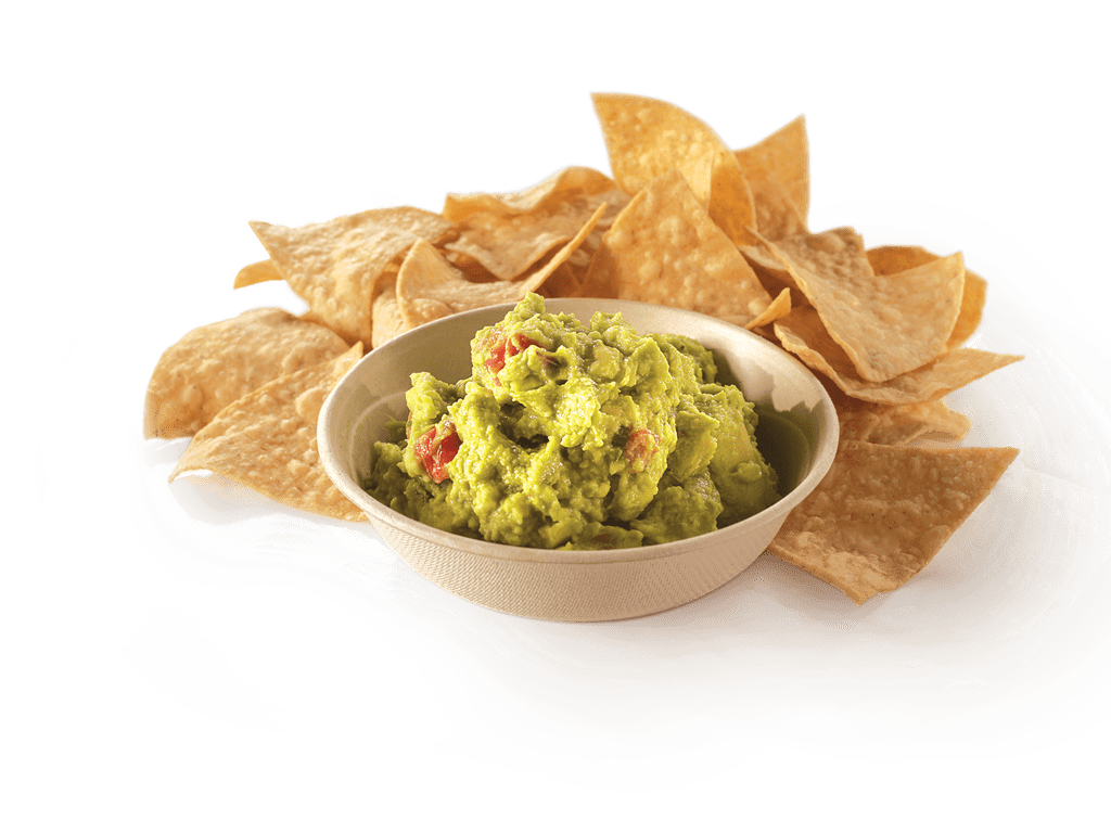 Chips and Guacamole transparent PNG.