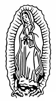 La Virgen De Guadalupe Drawings.