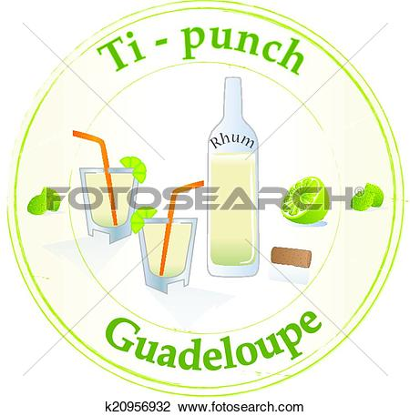 Clipart of Guadeloupe k20956932.