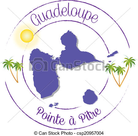 Clipart Guadeloupe.