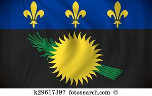 Flag guadeloupe Clipart Royalty Free. 90 flag guadeloupe clip art.