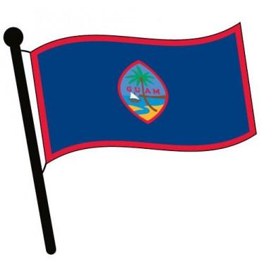 Guam Flag Clipart.