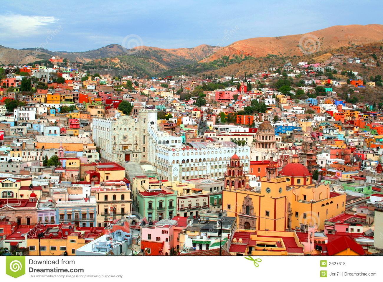 Guanajuato City Royalty Free Stock Photos.