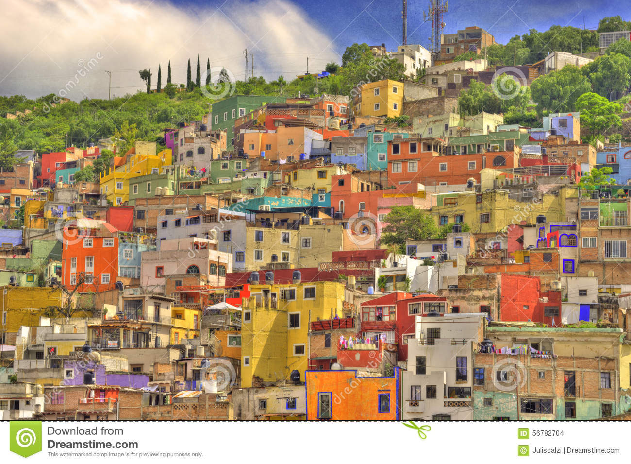 Guanajuato, Mexico Stock Photo.