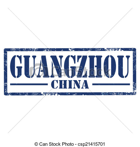 Vector Clipart of Guangzhou.
