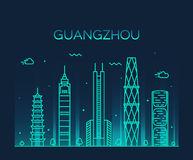 Guangzhou Stock Illustrations.