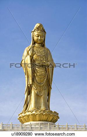 Stock Photography of Asia,China,Zhejiang Province,Putuoshan,Purple.