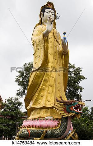 Stock Photo of Guanyin bodhisattva k14759484.