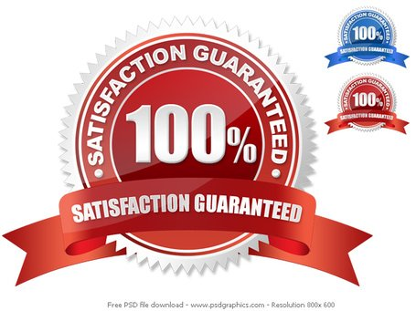 PSD guarantee seal Clipart Picture Free Download.