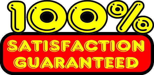 Satisfaction Guaranteed Sticker Clip Art at Clker.com.