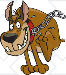 Free Guard Dog Clipart.