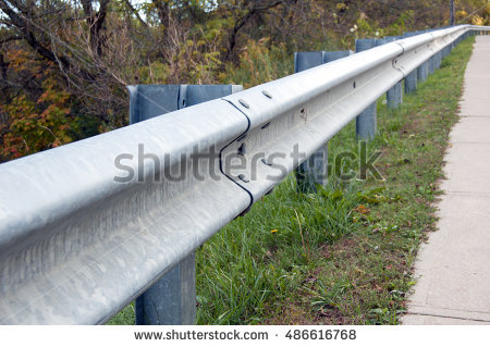Guardrail Stock Photos, Royalty.
