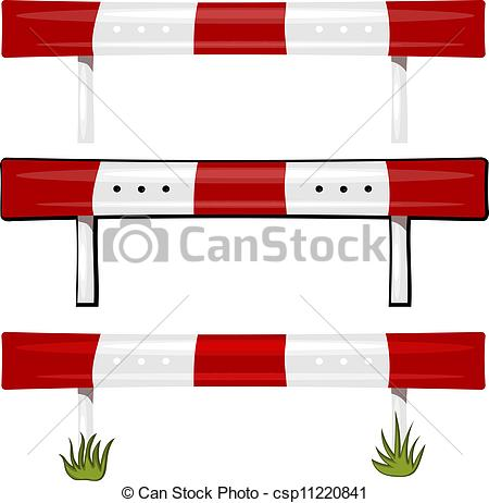 Guardrail Clipart.