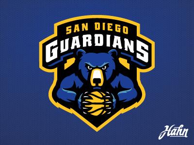 San Diego Guardians Logo.