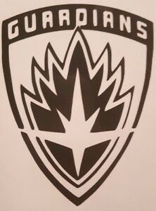Details about Guardians of the Galaxy Logo Sticker Vinyl Decal Choose  Size/Color.