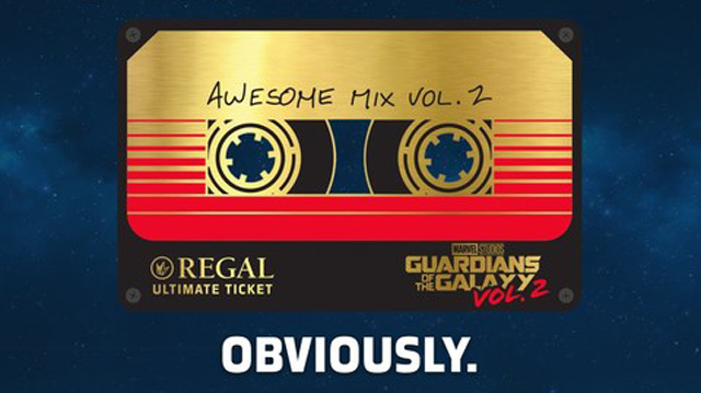 Regal Announces $100 Guardians of the Galaxy Vol. 2 Ultimate.