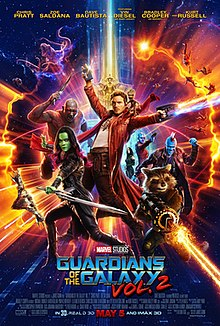 Guardians of the Galaxy Vol. 2.